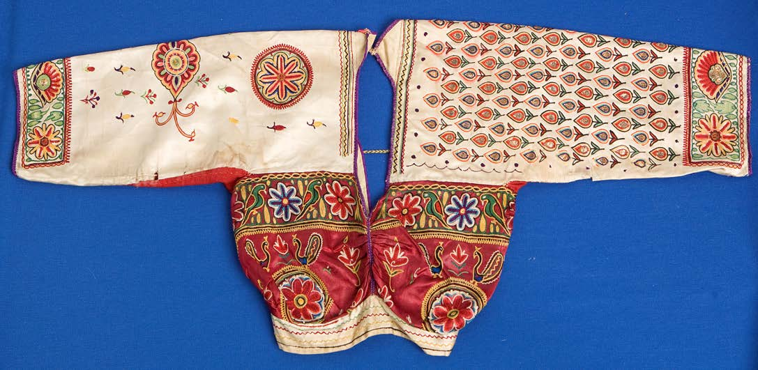 20th century Indian choli (woman's top)