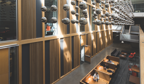 Inside Austin Hall