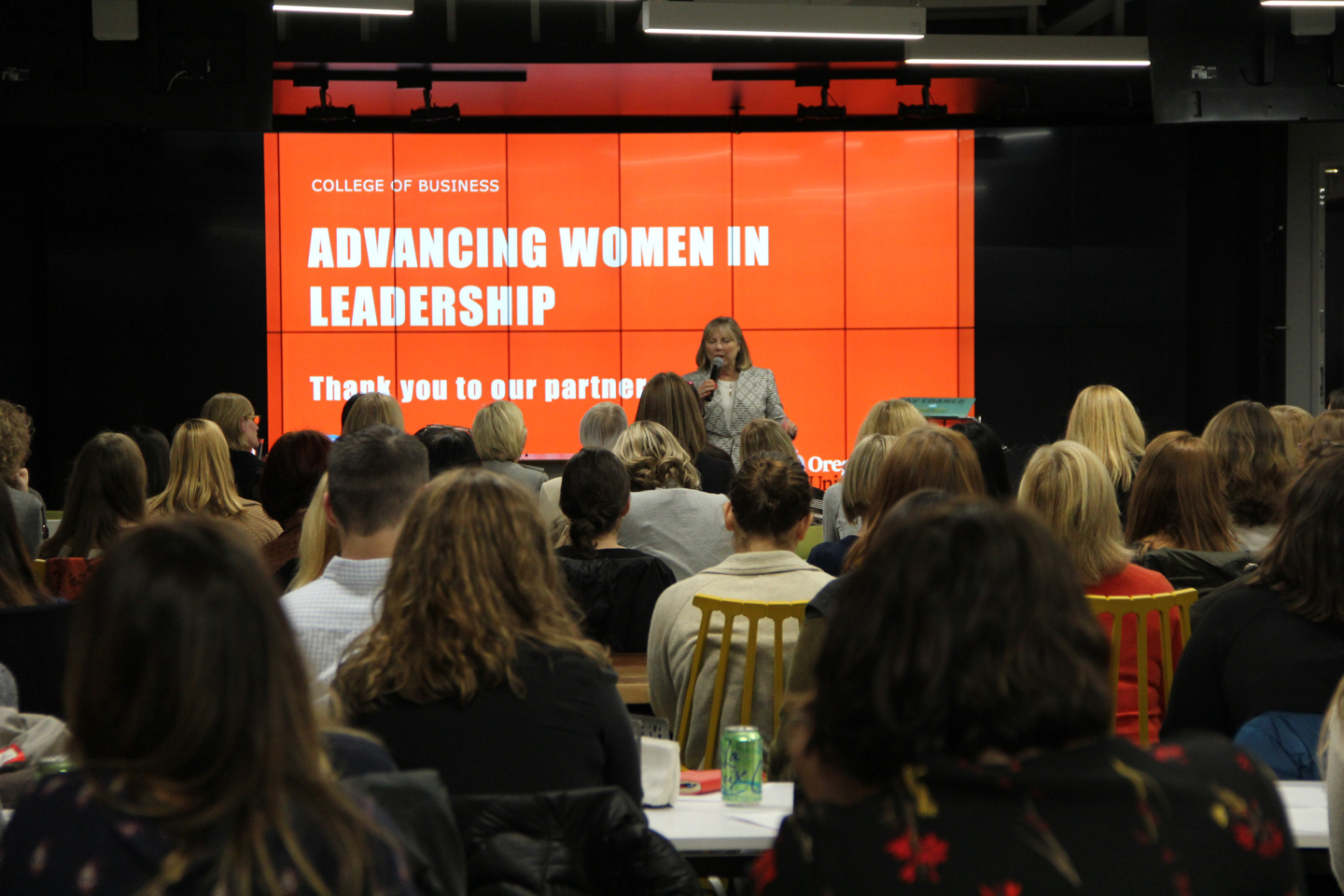 An Advancing Women in Leadership event
