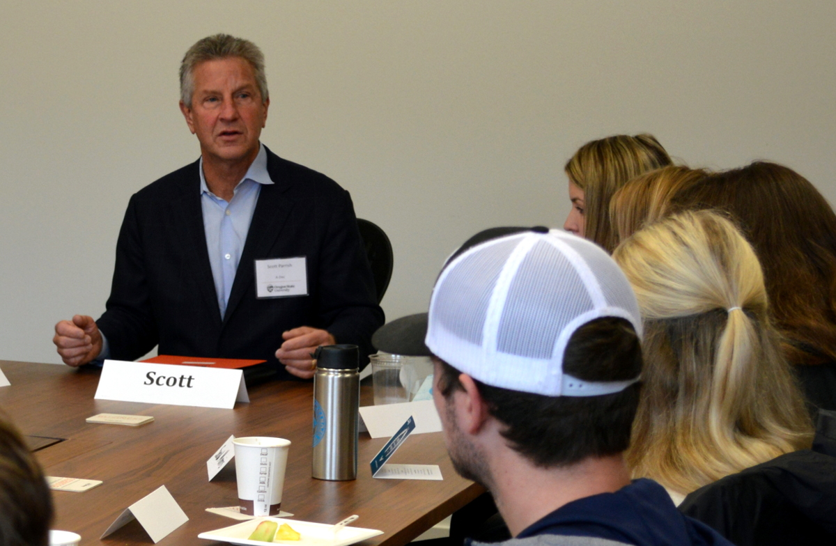 Scott Parrish Speaks at Family Business Club Launch