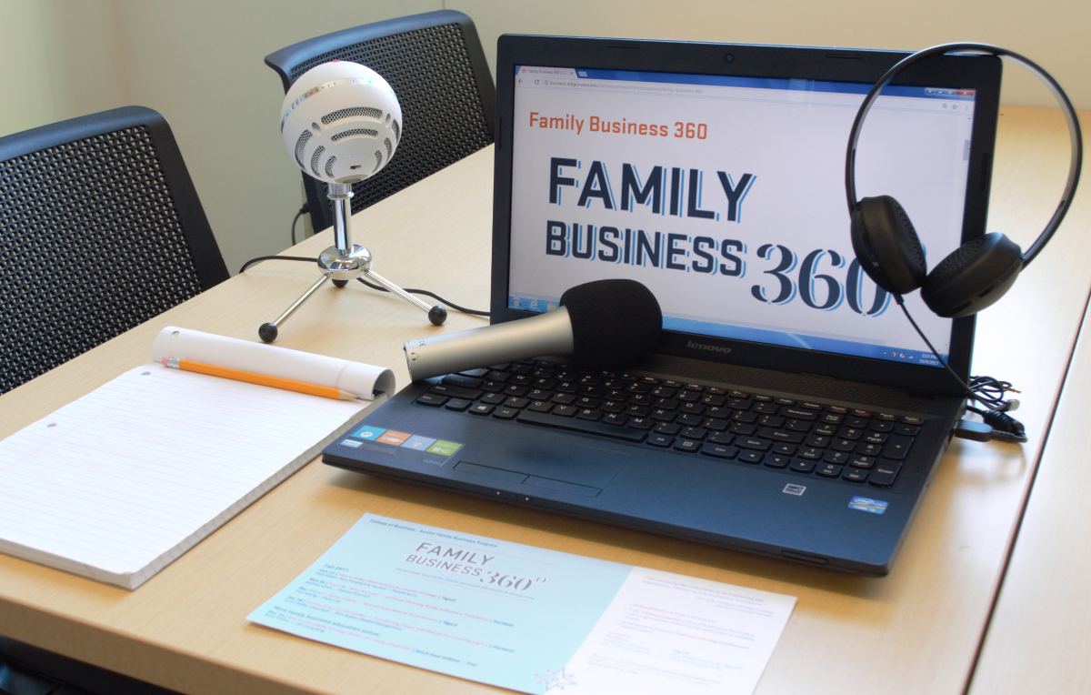 Listen to the Family Business 360 Podcast