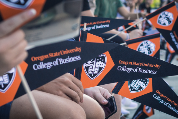 College of Business pennant