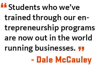 Dale McCauley talks about the InnovationX program at OSU