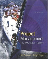 "Cover of 6th edition of ""Project Management"" textbook"