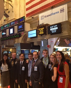 OSIG Students at the NYSE