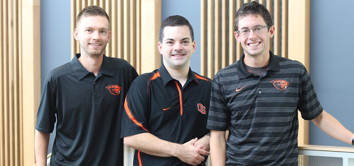 Ian Baker, Perren Baker and Mitchell Barrington each has a position at Nike.