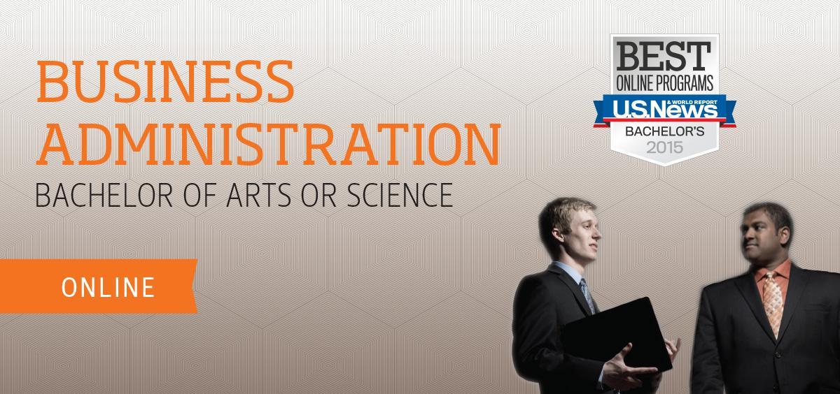 Online undergraduate degree