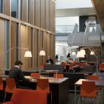 Austin Hall MBA atrium