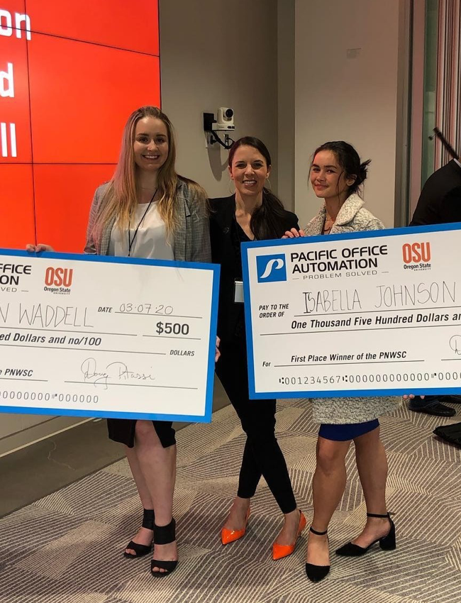Winners of the Pacific Office Automation competition